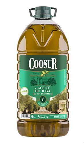 COOSUR Aceite de Oliva - Libre de alérgenos - Garrafa 5 L