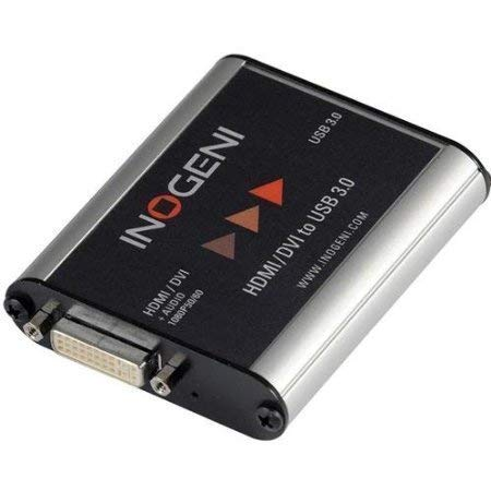 INOGENI DVI HDMI to USB 3.0 Video Capture Device