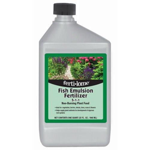 Voluntary Purchasing Group 10612 Fertilome Concentrate Fish Emulsion Fertilizer, 32-Ounce
