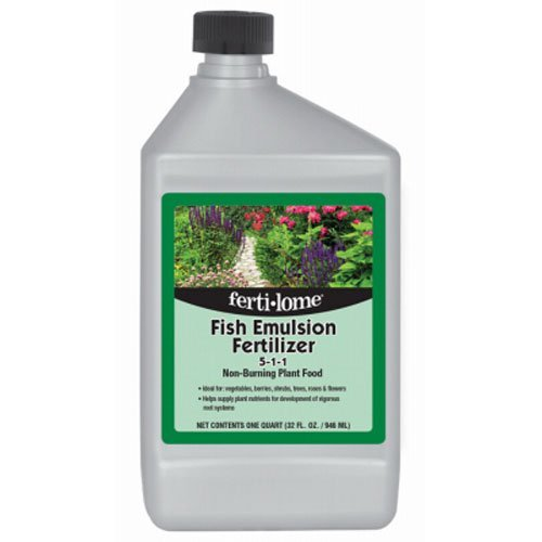 Fish Emulsion Fertilizer, 32-Ounce Concentrate