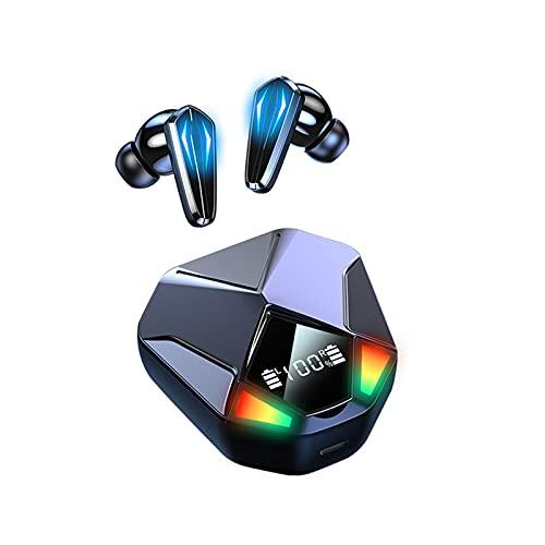 GXYGXY Auriculares intrauditivos Tapones para los oídos estéreo X6 E-Sports Auriculares para Juegos Retardo no inductivo Auricular Bluetooth Decodificación Dual Interruptor Hall Tapones para
