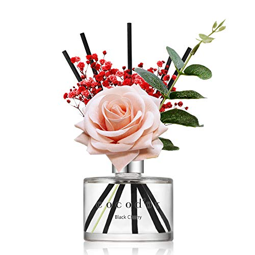 52. Rose Flower Reed Diffuser - Home and Office Decor