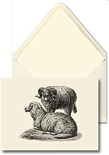 HAND MADE CARDS [Set Of 10] - Farm Animals