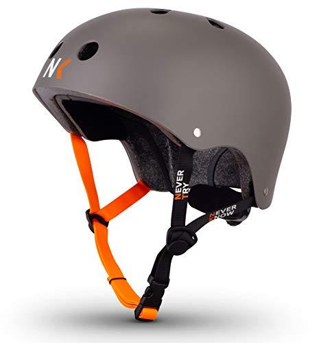 NTNK N11 Titan · BMX Fahrrad-Helm Skater E-Roller Inliner Scooter · Kinder & Erwachsene · M (52-56cm)