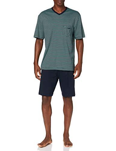 CALIDA Herren Relax Streamline 2 Pyjamaset, Laurel, S