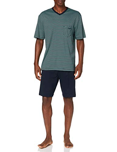 CALIDA Herren Relax Streamline 2 Pyjamaset, Laurel, S