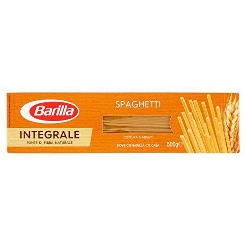 Barilla Pasta Integrale Spaghetti Semola Integrale Di Grano Duro, 500 gr