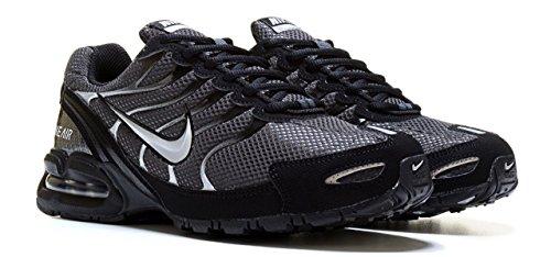 Nike Men's Air max Torch 4 Running Shoes, Anthracite/Metallic Silver/Black, 12