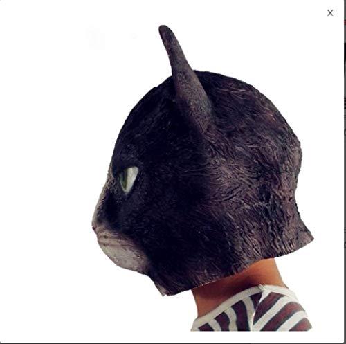 Giorno di Ognissanti X Hallowas Puntelli for Feste Maschere in Maschera Arrabbiato Testa di Gatto Lattice Gatto Coppia Maschera Halloween Cosplay Costume Prop Il Giorno di Tutti i Santi