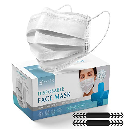 (60% OFF) Disposable Face Masks 50 Pack $4.80 – Coupon Code