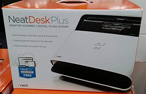 Check Out This NeatDesk Plus Desktop Scanner + Digital Filing System for PC (Renewed)
