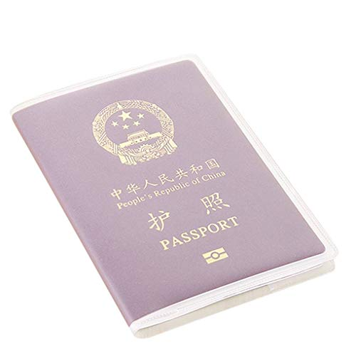 probeninmappx 10PCS wasserdichter Multi-Karten-Slots Pass Abdeckung aus Kunststoff PVC ID-Karte -Fall