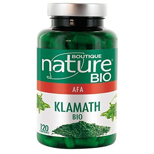Boutique Nature - Complément Alimentaire - Vitalité - Klamath BIO - 120 gélules végétales - Stimule les défenses immunitaires