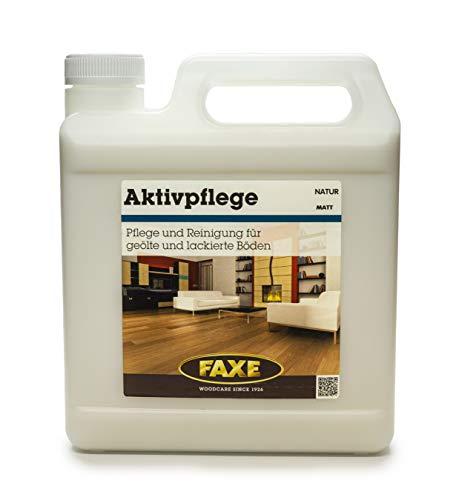 FAXE Aktivpflege matt 2,5 Liter, Parkettpflege, Holzboden, Korkboden, Parkett, Vinyl,