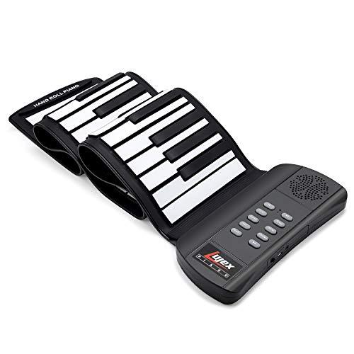 Lujex Roll Up Piano Teclado Portátil 61 Teclas,Teclado de Piano...
