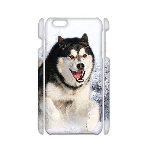 Desconocido Amusing Compatible For Apple iPhone 6 Plus 6S Plus For Boy Case Hard Plastic Have with Siberian Husky 5