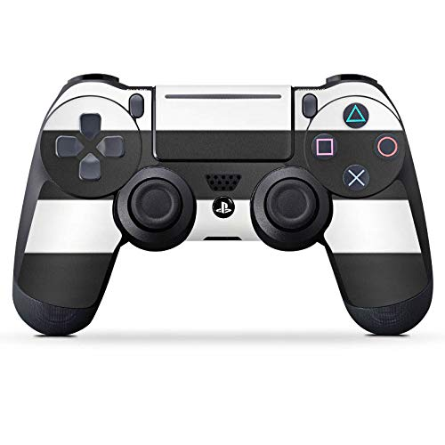 DeinDesign Aufkleber Skin Folie für Sony Playstation 4 Slim Controller PS4 Slim Controller Schutzfolie Cro Merchandise Fanartikel Crogestreift