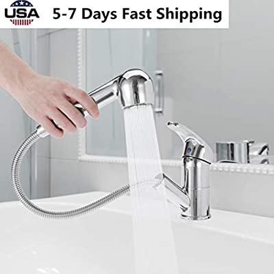 US Fast Shipment Kitchen Faucet w/Pull Down Spr...