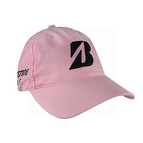 Bridgestone Kuchar Collection Cap (Pink/Black, One Size) Golf Hat
