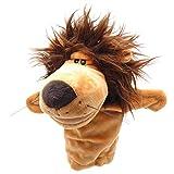 León Peluche Felpa Mano marioneta Cuentos Animales de Dibujos Animados Mono Perro Juguete Navidad niño Regalo de los niños
