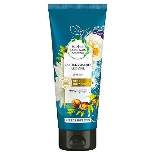 Herbal Essences Pure - Maschera riparatrice per capelli all'olio di argan