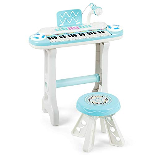 Best Buy! Kids Piano Keyboard, 37 Key Kids Electronic Keyboard Piano, Children's Musical Instrument,...