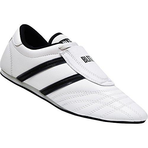 Blitz Artes Marciales, Zapatos de Entrenamiento Unisex, Unisex, Zapatillas de Entrenamiento, 12807, Blanco y Negro, 9 UK 🔥