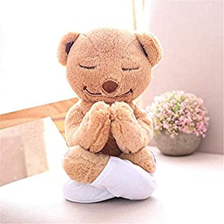 KAYYA Flexible Remodelable Pose Yoga Bear Cute Bear Soft Plush Toys,The Best Choice As A Gift for Children 35cm