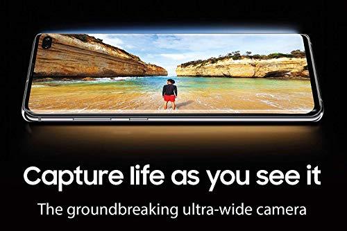 Samsung Galaxy S10e 128 GB Dual SIM, 128 GB interner Speicher, 6 GB RAM, prism Weiß, [Standard] Französische Version