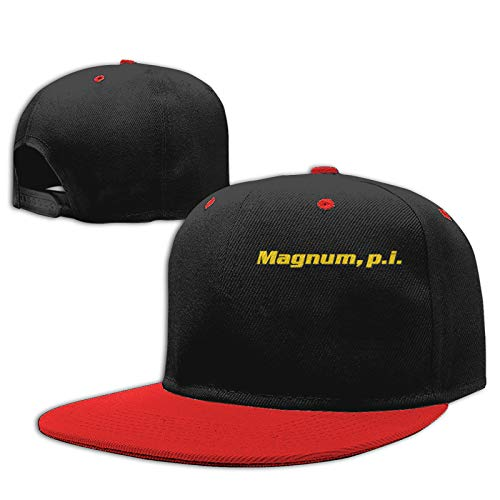 Magnum, P.I Casual Kids Fashion Hip-Hop Baseball Cap Red