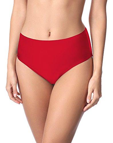 Merry Style Damen Bikini Unterteil M72W (Rot (4150), 42)