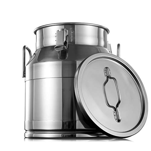 Fantastic Prices! 304 Stainless Steel Food Storage Containers with Lid and Side Locking Clamp,Large ...