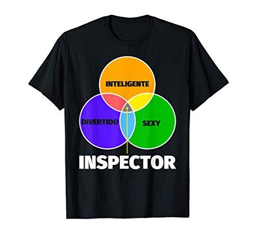 Inspector regalo divertente - inteligente sexy divertente Camiseta