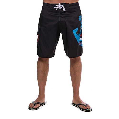 Santa Cruz Screaming hand Boardshorts 30 inch Black