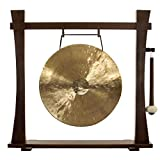 """16"""" to 18"""" Gongs on the Spirit Guide Gong Stand"""