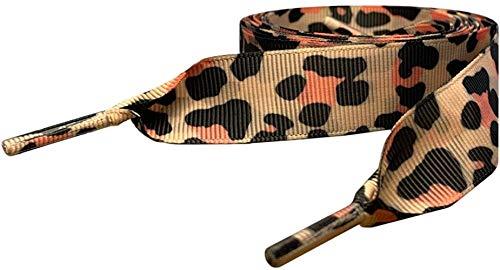 LWJ Cordones Snow Leopard Zebra Animal PrintCordones Cordones de Repuesto Ideales para Entrenadores,...