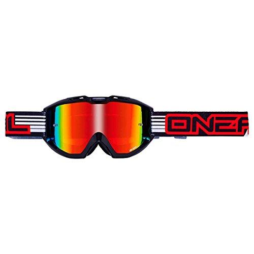 O'NEAL B1 RL Goggle MX DH Brille Flat schwarz/Radium Oneal