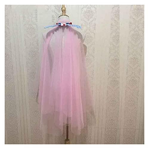 HXSZWJJ 300CM Velo Lungo Velo da Sposa Velo da Sposa Pink Breve Velo da 1,5m Taglio Edge Tulle Bride Accessori di Nozze Nozze (Color : Pink 1.5M)