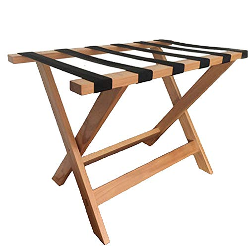 Find Cheap Bishell-MBS Casual Home Luggage Rack Beech Household Folding Luggage Rack for Hotel Hotel...