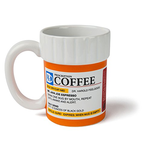 BigMouth Inc. The Prescription Coffee Mug – Hilarious 12...