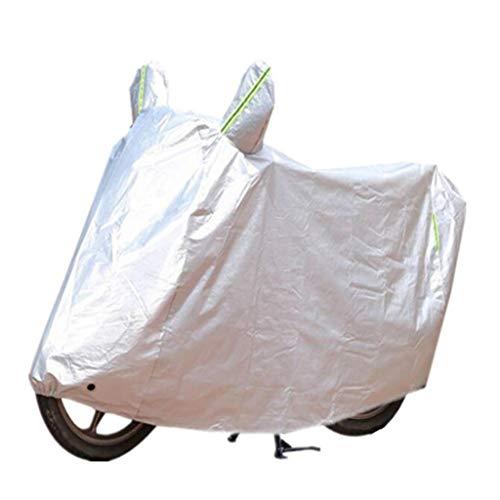 M-YN Vélo Couverture extérieure imperméable Couvre Bicyclette Pluie Soleil UV poussière Protection Neige l'épreuve du Vent avec Serrure Trou for Mountain Road vélo électrique