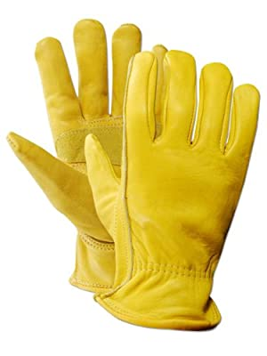 Magid Women's Pro Grade Collection Premium Grain Cowhide Leather Driver Gloves