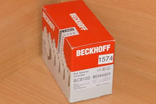 BECKHOFF BC8100 // BC 8100 Bus Terminal Controller NEU Versiegelt