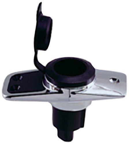 Perko 1060PB0DP Plug-in Light Base, Rectangular 5° Rake Bases