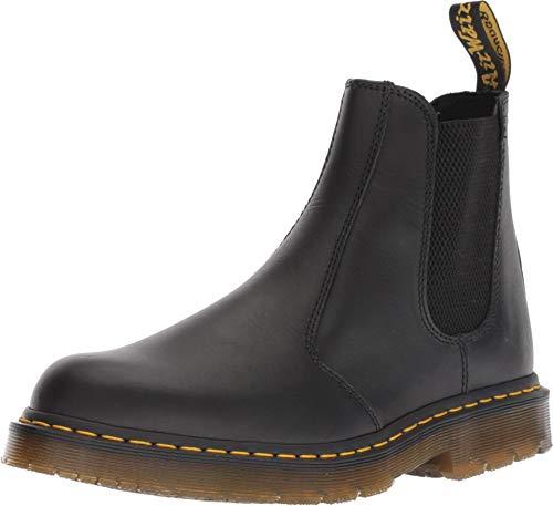 Dr. Martens Women's Work Chelsea Boot, Black Industrial Full Grain, 11