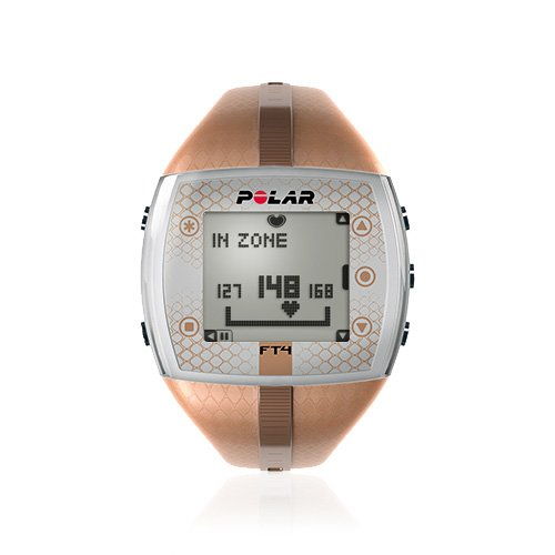 Big Sale Best Cheap Deals Polar FT4 Heart Rate Monitor Watch (Bronze/Bronze)