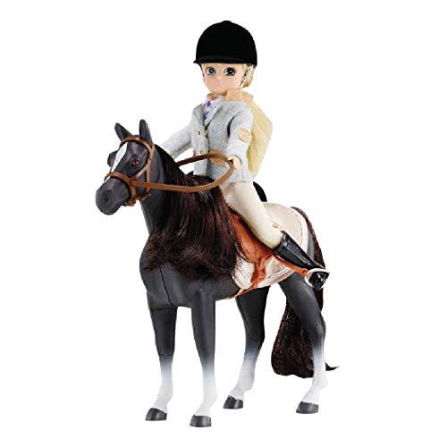 Lottie Set de Pony y Muñeca Pony Club LT054