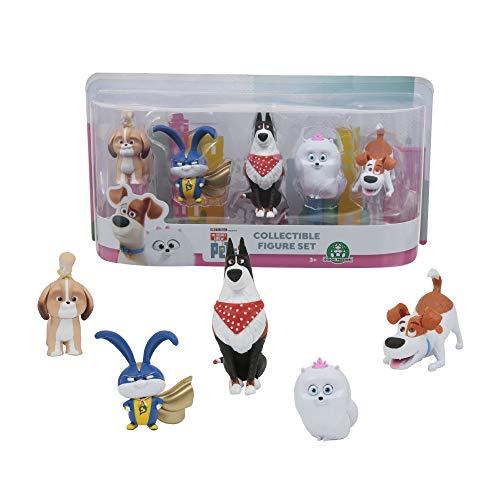 Mascotas 2 - Blister 5 Figuras Articuladas (Giochi Preziosi