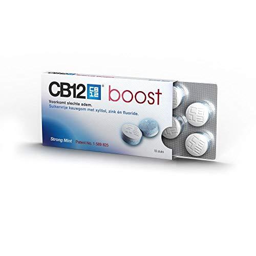 CB12 Oral Care Boost Kaugummi - 10 Stück