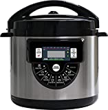 Okuncono 8-In-1 Multi-Functional Pressure Cooker - 8 Smart-Functions Large Capacity Instant Slow Steam Cooker & Accessories